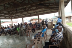 STAKEHOLDERS MEETING WITH SMALL SCALE MINERS