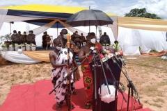 GOLDFIELDS GHANA LIMITED DONATION OF TWO AMBULANCES TO GHANA HEALTH SERVICE, TARKWA